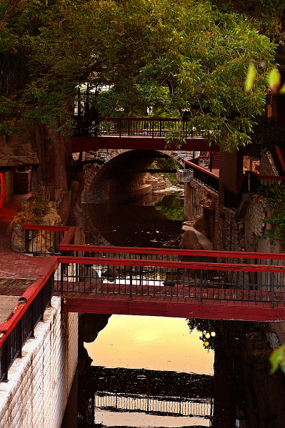 Bridge on the Canal, Sixth Street, Austin Texas