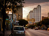austin-downtown > Great Sky on Sixth Street, Austin Texas