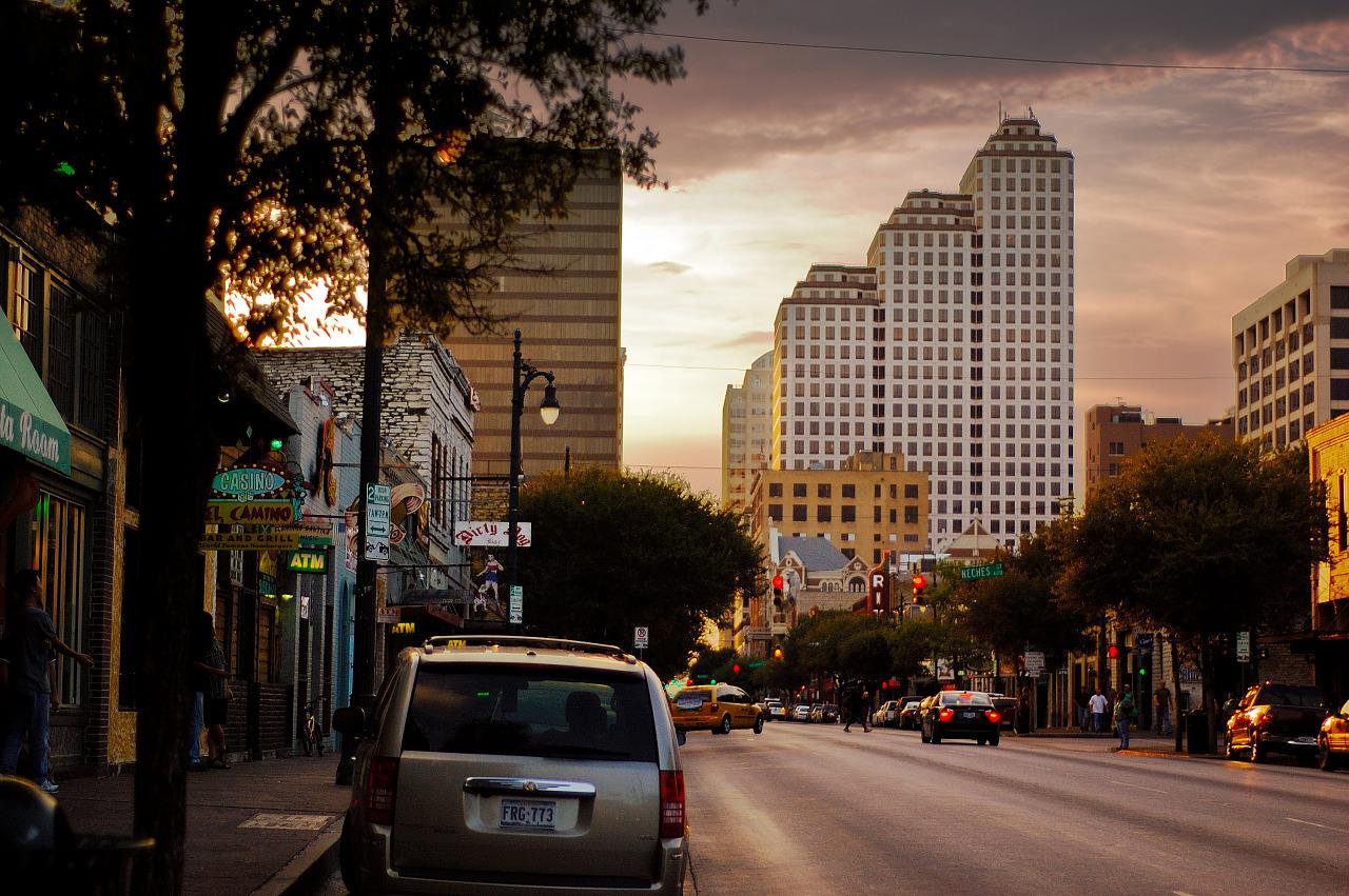 Great Sky on Sixth Street, Austin Texas