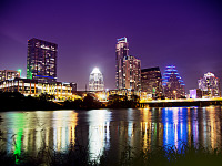austin-downtown > Austin skyline at townlake 2013