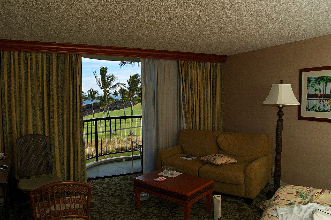 View of the Ocean at the Hilton Waikoloa Village - Ocean tower room