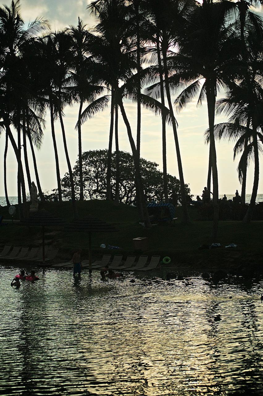 laguna beach hilton waikoloa sunset