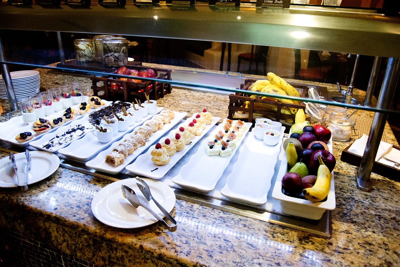 Dessert buffet of Spice restaurant at Hyatt Zilara hotel ...