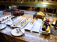 cancun-mexico-2014 > Dessert buffet of Spice restaurant at Hyatt Zilara hotel in Cancún