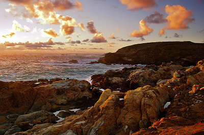 carmel-monterey > Best looking sunset at Point Lobos