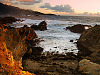 carmel-monterey &gt; Chaotic sunset at Point Lobos