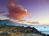 carmel-monterey > Pink clouds in Point Lobos