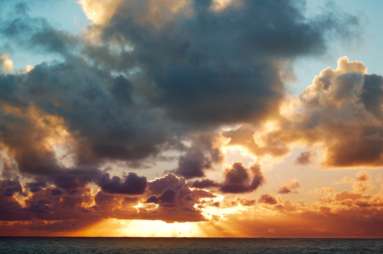 God rays at Point Lobos