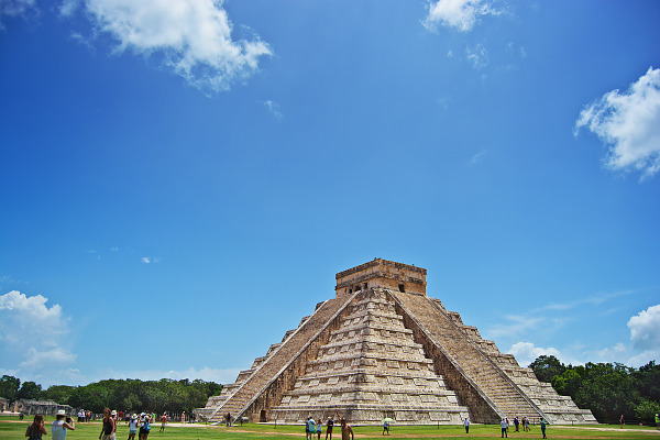 Trip to Chichen Itza Valladolid in Yucatan Mexico