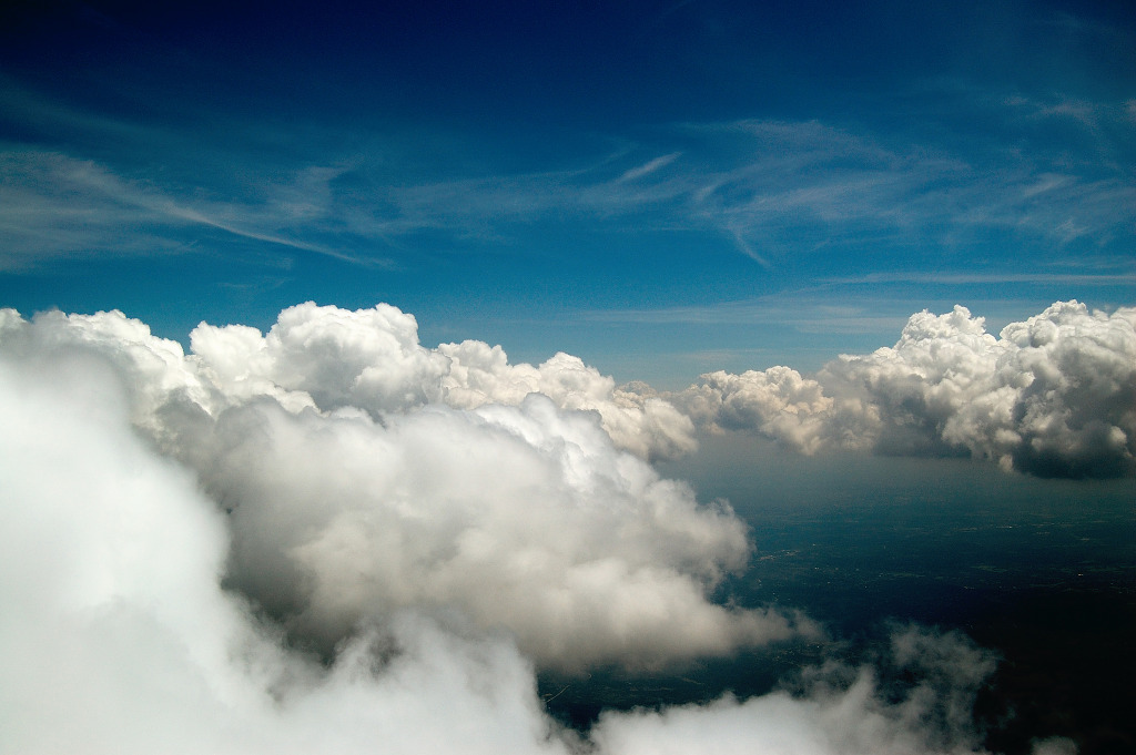 Blue Skies Of Texas >> White Clouds, Blue Skies over Texas   Grégory Massal Photography