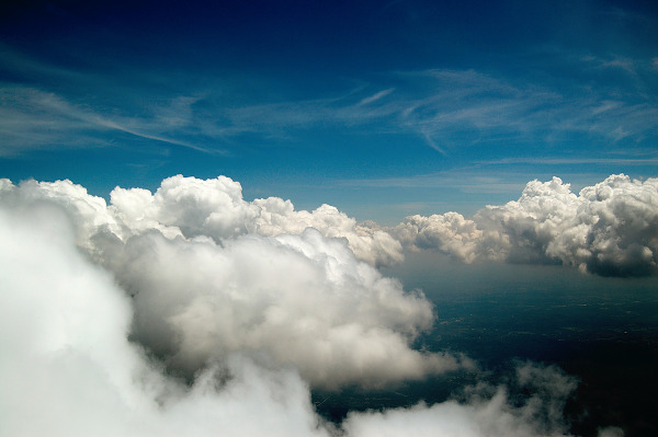clouds-sky  > White Clouds, Blue Skies over Texas