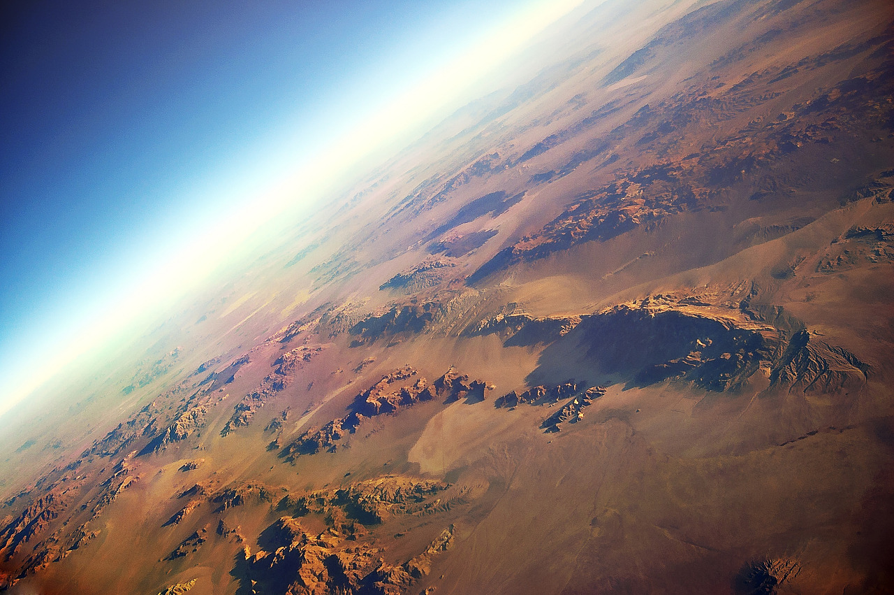 Earth from above - Desert USA