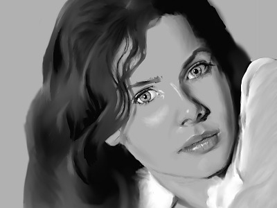 digital-painting > Rachel Hurd Wood as Laura - The Perfume