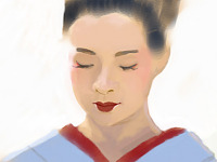 digital-painting > Memoirs of a geisha