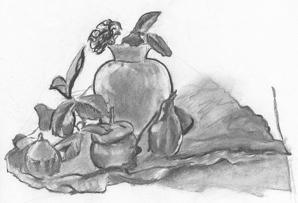 drawing-painting-traditional  > Flowers - Still Life