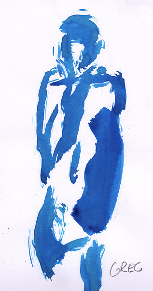 drawing-painting-traditional  > Woman silhouette