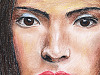 drawing-painting-traditional > Woman's face