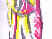 drawing-painting-traditional > Abstract Girl Ink
