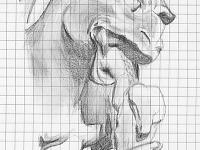 drawing-painting-traditional > Gargoyle