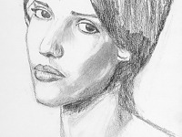 drawing-painting-traditional > Jessica Alba