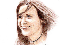 drawing-painting-traditional > Sheryl Crow