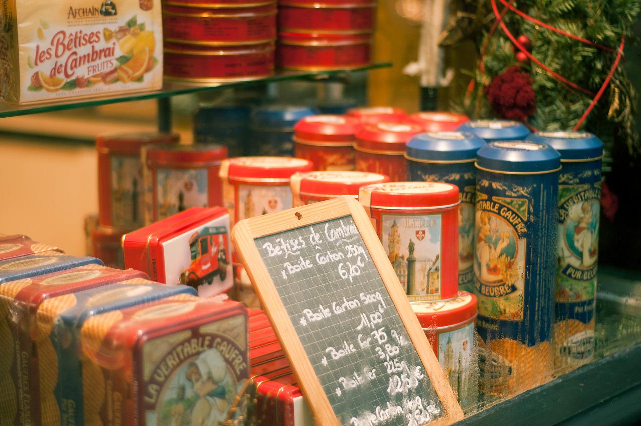 Bêtises de cambrai, Vieux Lille, France