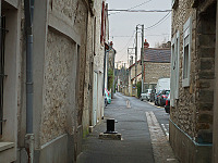 france-2009 > ruelle entrance sunrise st mammes france