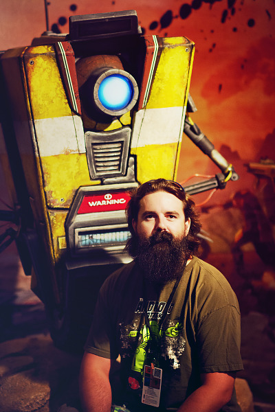 Beard and Claptrap at Gearbox Community Day 2013