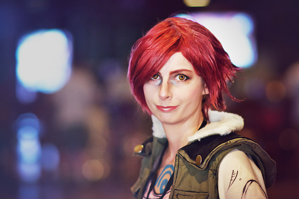 Lilith the Siren cosplay from Borderlands at Gearbox Community Day 2013 002