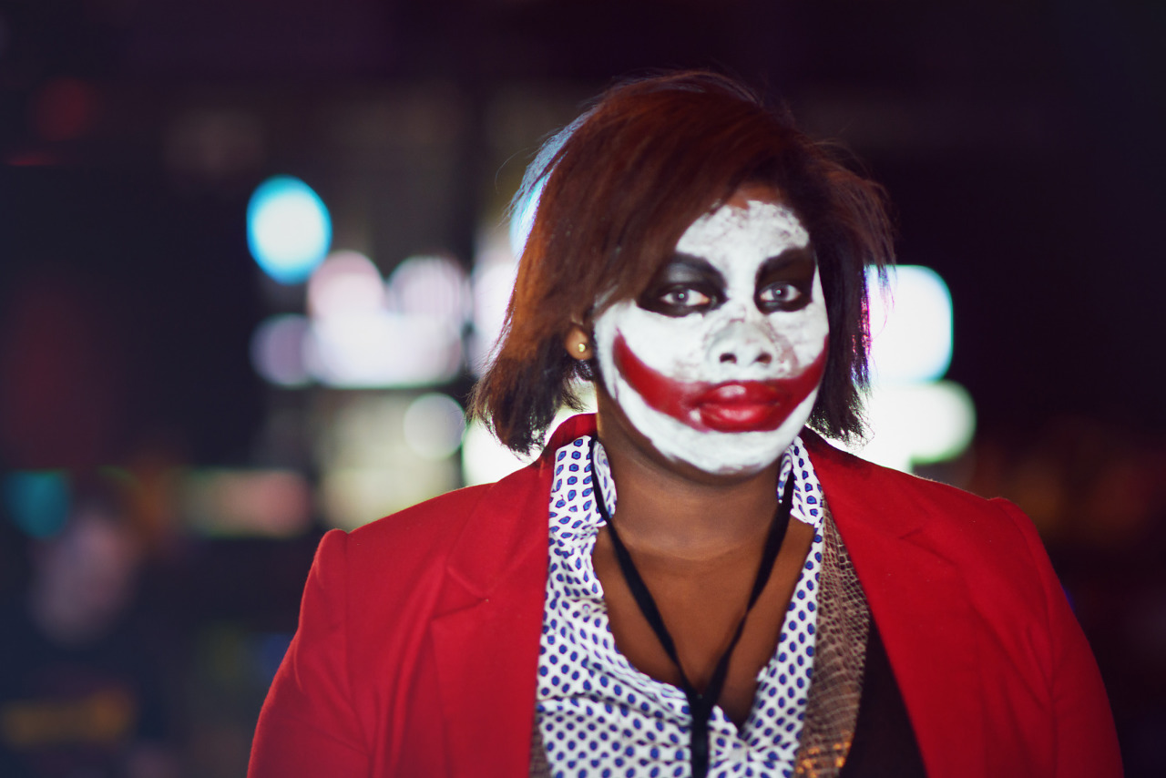 Why so serious cosplay at Gearbox Community Day 2013