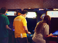 gearbox-community-day-2013 > Videogame history museum arcade exposition at Gearbox Community Day 2013