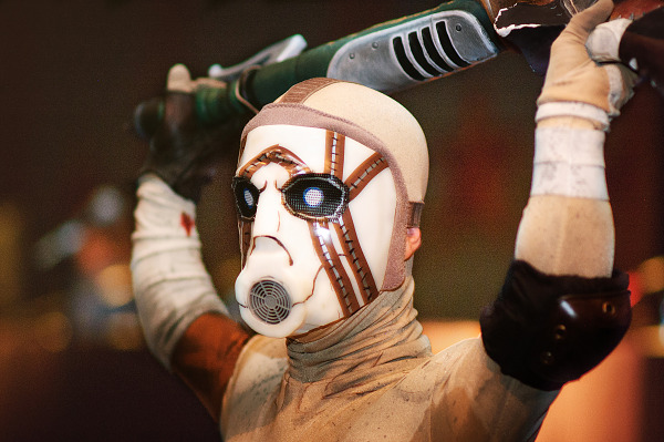 Borderlands Bandit Psycho Midget Cosplay at Gearbox community day - 019