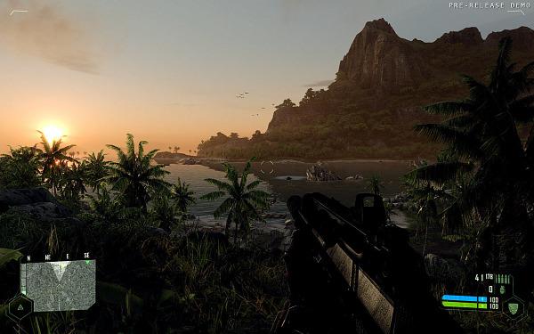 Crysis summum du rendu Direct3D 9