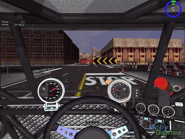 Monster truck madness est l'un des premiers jeux a exploiter Direct3D