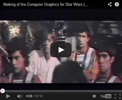 Making of the Computer Graphics for Star Wars