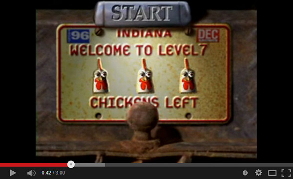 Chicken crossing - by Andrew Glassner