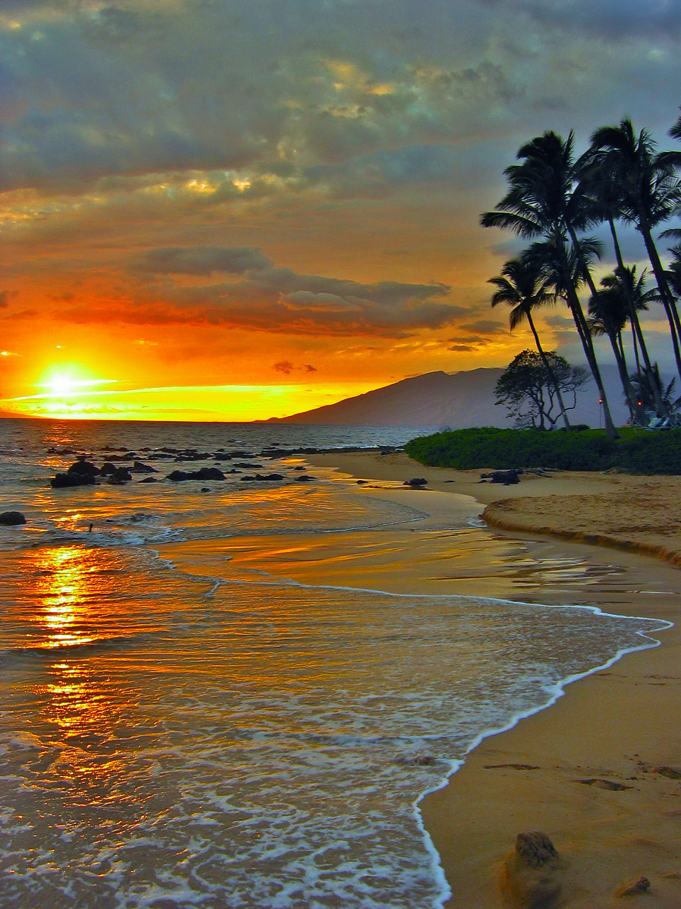 Image result for sunset in maui