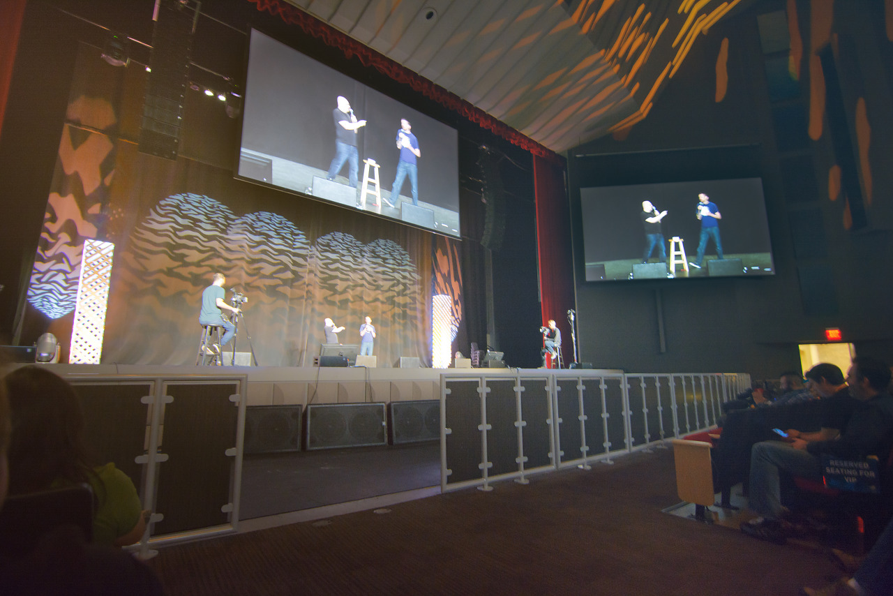 Question and Answer by Tycho and Gabe on the main stage at PAX South 2016