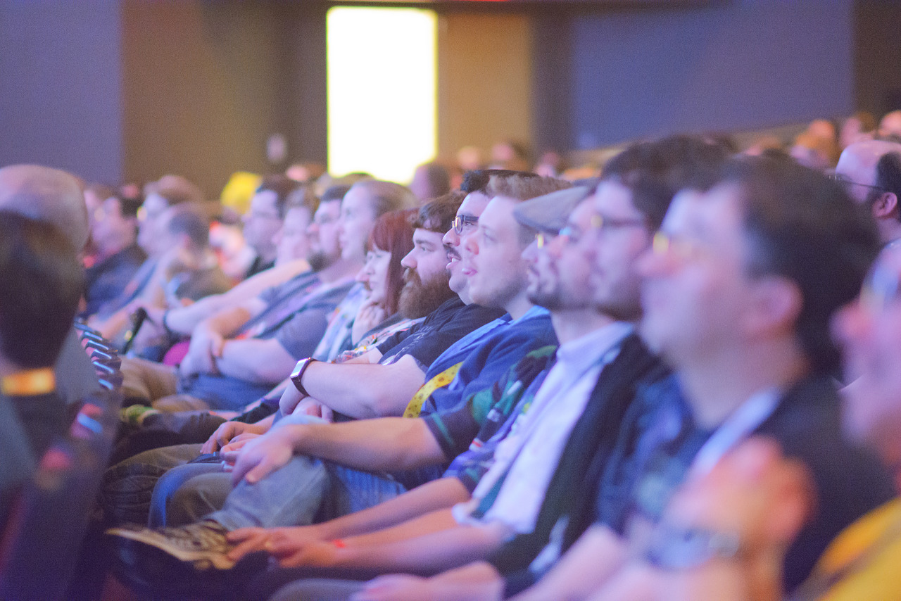 Penny Arcade Expo Questions and Answers Crowd