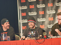 paxsouth-2016 > Members of the Dropped Frames podcast talking about their experience streaming