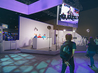 paxsouth-2016 > Booth of Twitch on the showfloor of PAX South 2016