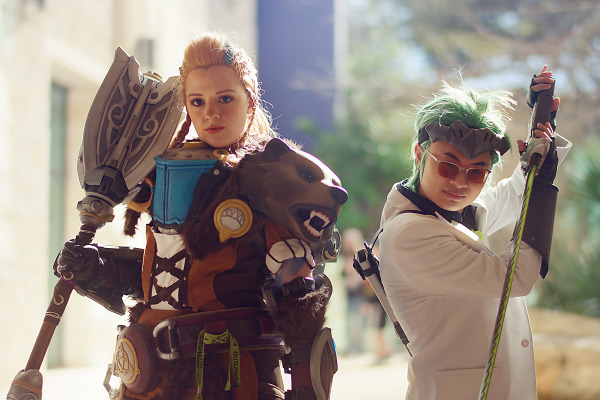 Cosplay of Pax South 2019