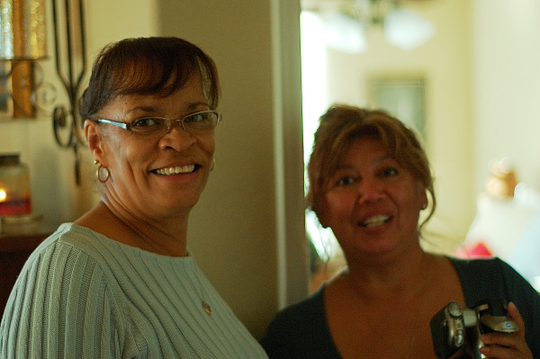 pflugerville-texas  > Pauline and friend at baby shower