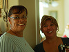 pflugerville-texas &gt; Pauline and friend at baby shower