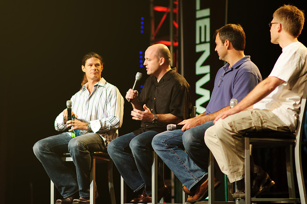 Quakecon 2011 - Hollenshead, Willits, Cloud, Carmack talking