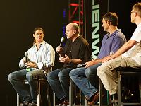 quakecon-dallas-2011 > Quakecon 2011 - Hollenshead, Willits, Cloud, Carmack talking