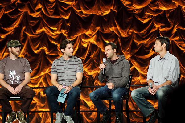 Jens Matthies, Raphael Colantonio, Ted Price talking at Quakecon 2012