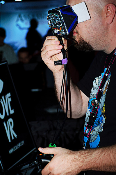 Oculus Rift first prototype at QuakeCon 2012