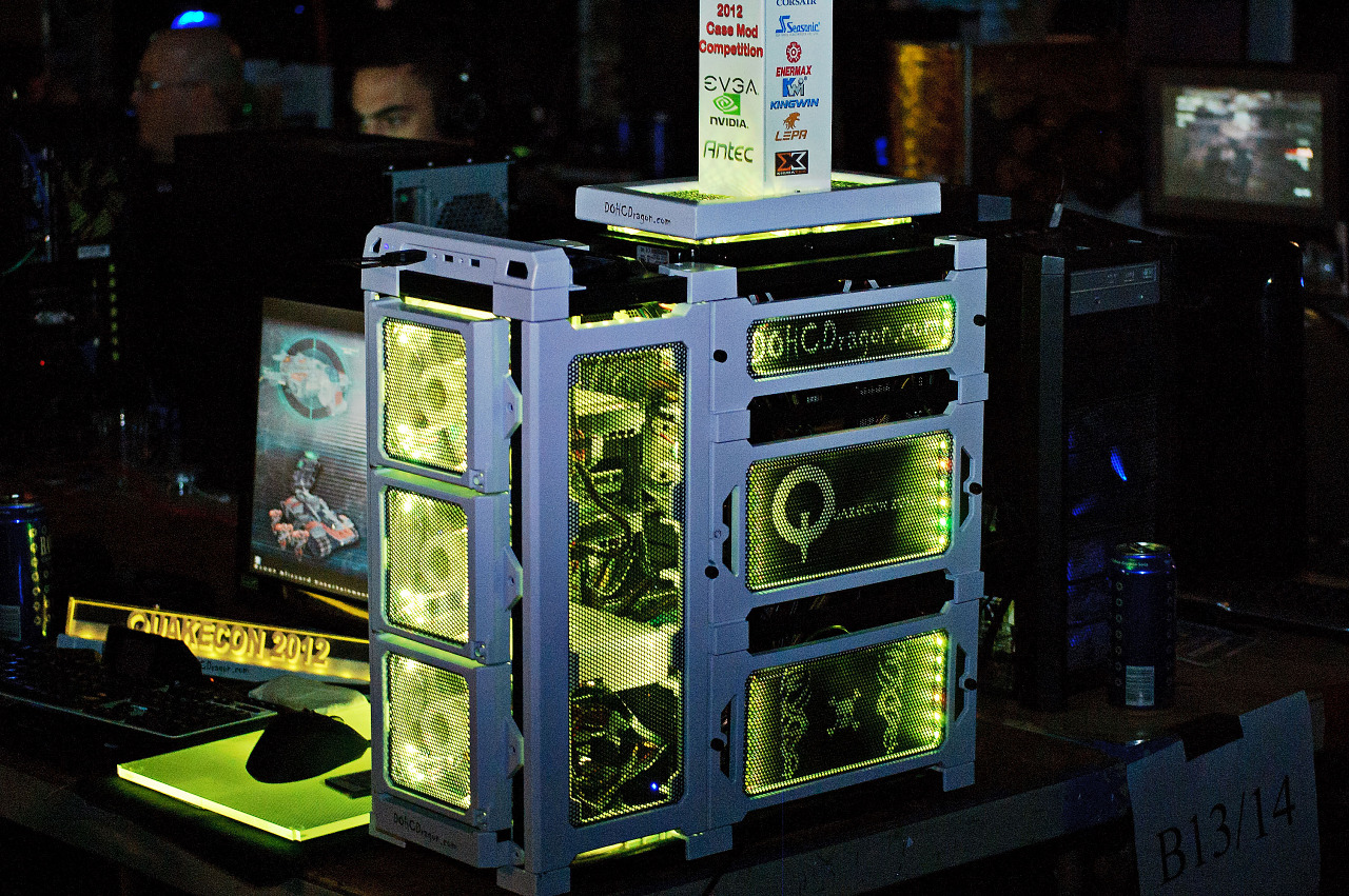 Case mod competition at the Quakecon 2012