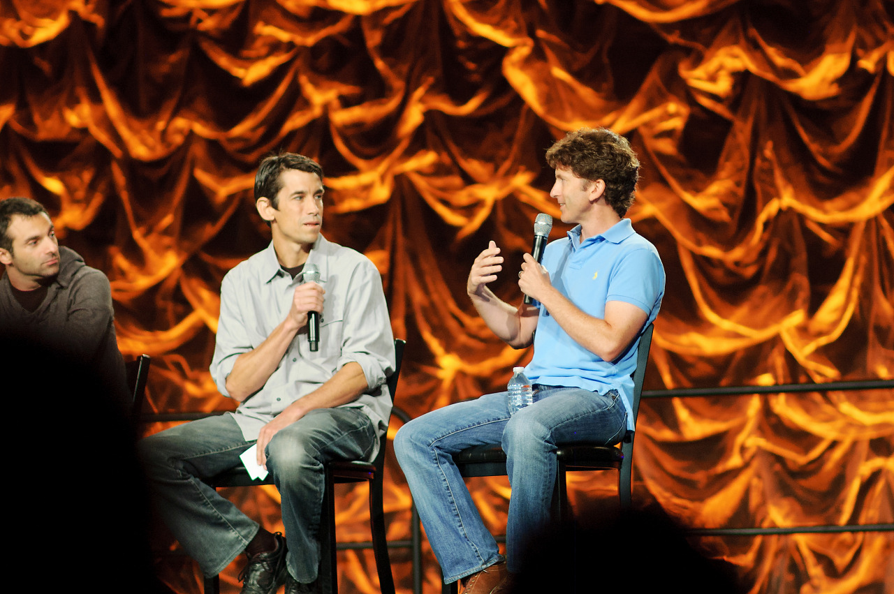 Raphael Colantonio, Ted Price, Todd Howard talking at Quakecon 2012